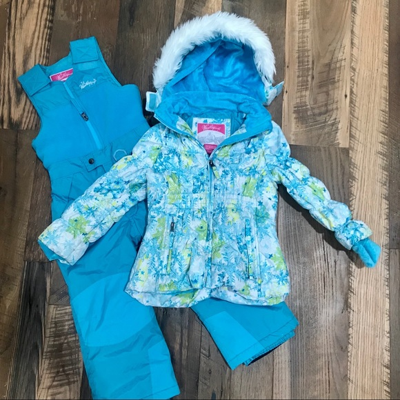 Weatherproof Other - Weatherproof 2pc Winter Coat & Bibs Girl 5